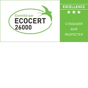 Logo plaque label 26000 excellence